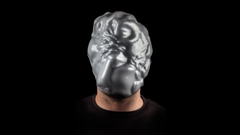 """Zach Blas' project """"Facial Weaponization Suite"""" comprises of three different types of masks that he claims cannot be detected as human faces facial recognition software."""