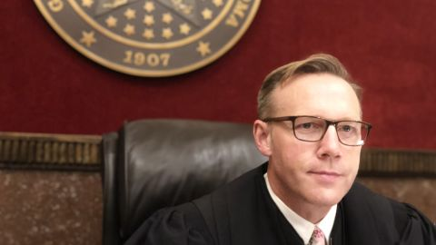 Cleveland County District Court Judge Thad Balkman has presided over the historic Oklahoma opioid case this summer.