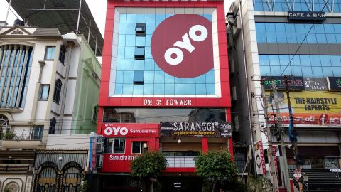 OYO, already India's biggest hotel chain, is now targeting the US market.