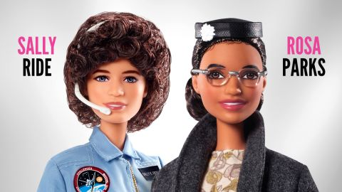 Rosa Parks and Sally Ride were just honored by getting their very own Barbie dolls.