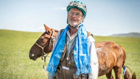 Bob Long, 70, became the oldest person to ever complete the Mongol Derby and the oldest to ever win it.