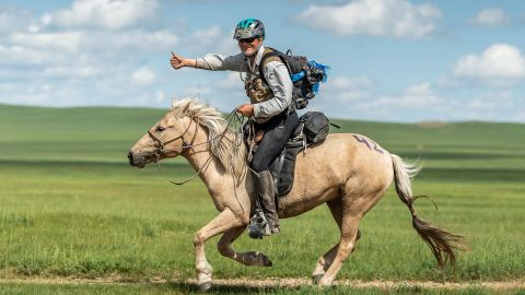 """Long says he's still not bored of riding and would like to race again. """"My personal definition of success is whether you do it again,"""" he said."""