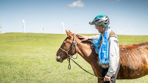 The Mongol Derby is an annual event which sees riders race 1,000 kilometers across the Mongolian steppe. The route is inspired by the Mongol Empire's pioneering postal service which was used to send messages.