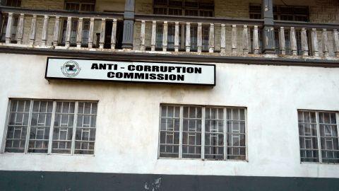 An Anti-Corruption Commission office in Bo, Sierra Leone.