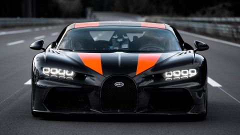 Bugatti worked with the race car manufacturer Dallara to create a special version of the Chiron.