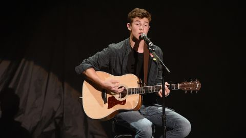 LAS VEGAS, NV - JULY 31:  Recording artist Shawn Mendes performs at The Joint inside the Hard Rock Hotel & Casino on July 31, 2014 in Las Vegas, Nevada.  (Photo by Ethan Miller/Getty Images)