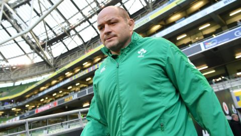 DUBLIN, IRELAND - FEBRUARY 02:  Rory Best of Ireland arrives at the stadium prior to the Guinness Six Nations between Ireland and England at Aviva Stadium on February 2, 2019 in Dublin, Ireland.  (Photo by Dan Mullan/Getty Images)