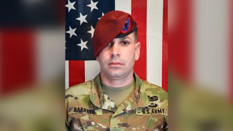 Sgt. 1st Class Elis Angel Barreto Ortiz was killed along with a Romanian soldier in a suicide car bombing in Kabul, Afghanistan, on Thursday, September 5, 2019