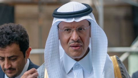 Saudi Deputy Oil Minister Prince Abdulaziz Bin Salman Bin Abdulaziz arrives at the headquarters of the Organization of the Petroleum Exporting Countries (OPEC) for the 15th meeting of the Joint Ministerial Monitoring Committee (JMMC) on July 01, 2019 in Vienna, Austria. (Photo by JOE KLAMAR / AFP)        (Photo credit should read JOE KLAMAR/AFP/Getty Images)
