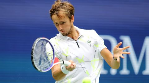Daniil Medvedev lost the US Open final but not without a fight.