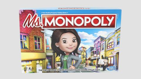 Ms. Monopoly is meant to celebrate women's empowerment by giving women a head start in the game.