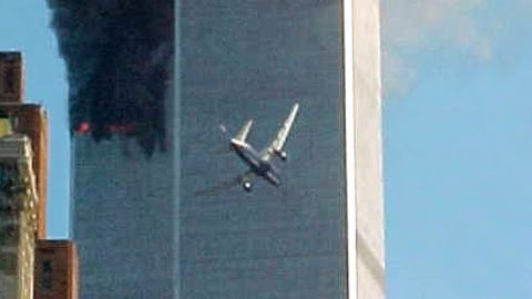 Seventeen minutes after the north tower was struck, at 9:03 a.m., United Airlines Flight 175 flew into the south tower of the World Trade Center. That plane also flew out of Boston en route to Los Angeles.