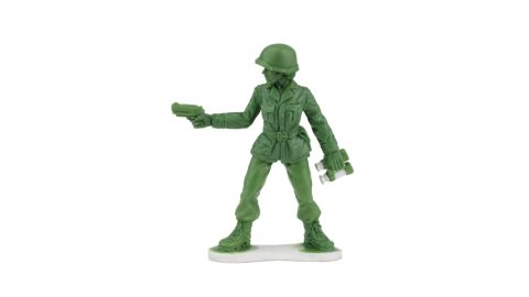 BMC Toys plans to start selling the female soldiers next year. This is a prototype of one of the figures.