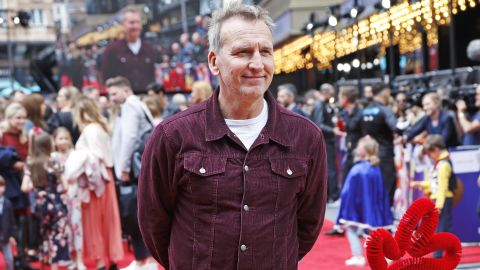 """LONDON, ENGLAND -  JUNE 16:    Christopher Eccleston attends the European Premiere of """"Toy Story 4"""" at Odeon Luxe Leicester Square on June 16, 2019 in London, England.  (Photo by David M. Benett/Dave Benett/WireImage)"""