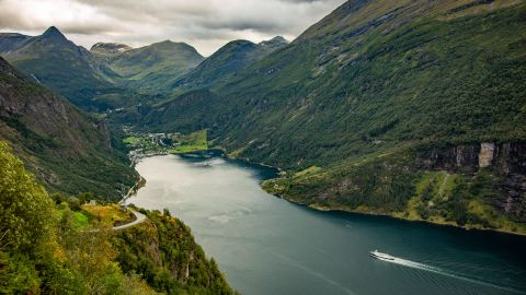 <strong>Geiranger, Norway:</strong> Geirangerfjord is a UNESCO World Heritage site and one of Norway's most popular tourist destinations.