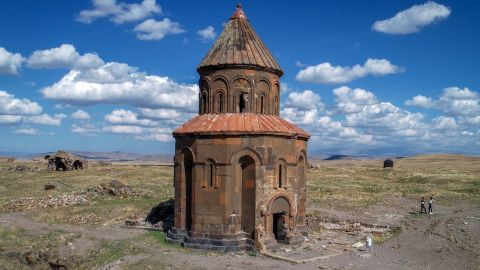 <strong>Kars, Turkey:</strong> Ani Ruins, in northeast Turkey, is the site of an ancient metropolis. In the 11th century, there were around 100,000 residents in this walled city. <br />