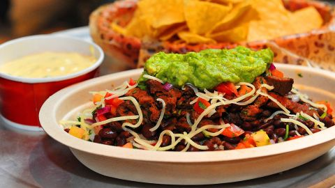 Chipotle predicts that it will run out of carne asada in late November or early December.