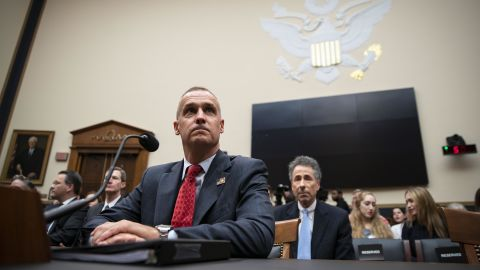 """Corey Lewandowski, former campaign manager for U.S. President Donald Trump, arrives to testify during a House Judiciary Committee hearing in Washington, D.C., U.S., on Tuesday, Sept. 17, 2019. Lewandowski promised to """"be as sincere in my answers as the committee is in its questions"""" in a combative opening statement challenging the Committee's investigation of the president and his associates."""