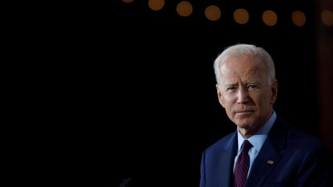 Democratic presidential candidate and former U.S. Vice President Joe Biden delivers remarks about White Nationalism during a campaign press conference on August 7, 2019 in Burlington, Iowa.