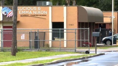 The Lucious and Emma Nixon Academy said it had no comment on the arrests.