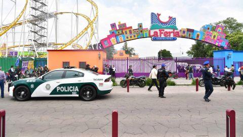 EUM20190928ACT08.JPG CIUDAD DE MÉXICO. Accident/Accidente-Feria Chapultepec.- 28 de septiembre de 2019. El accidente ocurrido en el juego mecánico conocido como Quimera en la Feria de Chapultepec deja dos personas fallecidas y dos heridas. Foto: Agencia EL UNIVERSAL/Hugo García/EELG (GDA via AP Images)  TRANSLATION: Accident / Accident-Feria Chapultepec.- September 28, 2019. The accident in the mechanical game known as Chimera at the Feria de Chapultepec leaves two people dead and two wounded. Photo: EL UNIVERSAL Agency/Hugo García/EELG (GDA via AP Images)