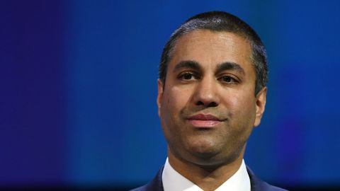 A federal appeals court has largely upheld the Federal Communications Commission's repeal of its net neutrality rules for Internet providers. The repeal was one of the most controversial and high-profile efforts of the FCC under the leadership of Ajit Pai, seen here.