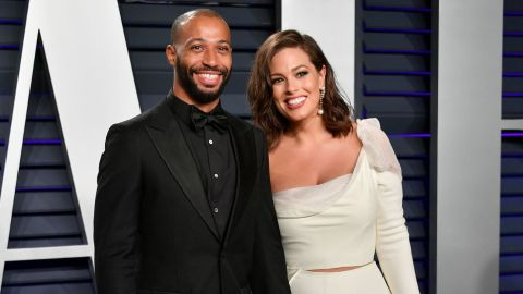 """Justin Ervin and model Ashley Graham celebrated their ninth wedding anniversary in August <a href=""""https://www.cnn.com/2019/08/14/entertainment/ashley-graham-pregnant-trnd/index.html"""" target=""""_blank"""">with the announcement they are expecting their first child together. </a>"""