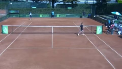 ATP suspends tennis umpire who told teen ballgirl she was 'very sexy'