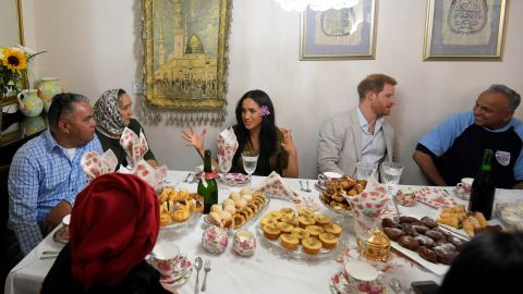 Prince Harry and Meghan marked Heritage Day, a South African public holiday, by visiting a residence in the Bo Kaap district of Cape Town.