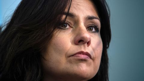 Heidi Allen installed permanent panic buttons and security lights after she was targeted.
