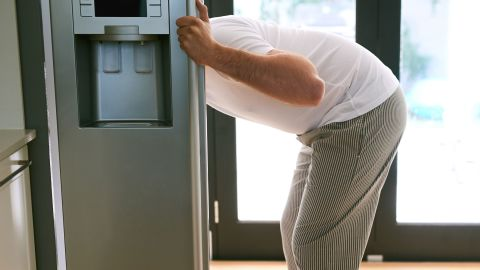 """""""Refrigerator handles are usually bad because the people will handle raw meat products and then go into the fridge to get something else without thinking,"""" Gerba said."""