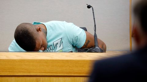 Brown was emotional while testifying because he feared gun violence, an attorney said.