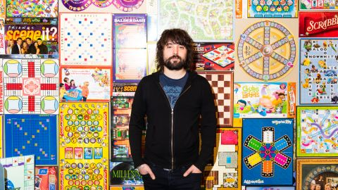 Tom Szaky, founder and CEO of TerraCycle, poses for a portrait at the company's headquarters in Trenton, NJ on January 10, 2019. CREDIT: Mark Kauzlarich for CNN
