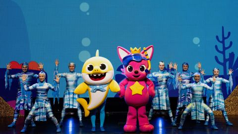 'Baby Shark Live' stage show is currently on a North American tour.