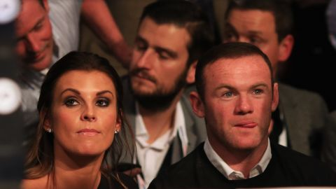 Coleen Rooney and her husband, Wayne.