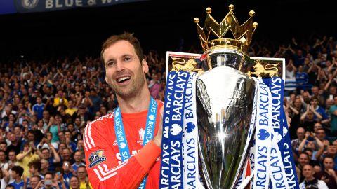 Petr Cech won four Premier League titles with Chelsea.