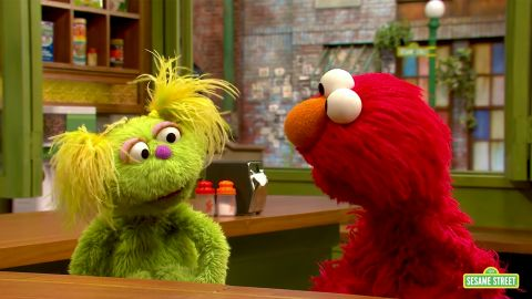 """""""Sesame Street"""" is addressing the grown-up issue of drug addiction as part of a new initiative. They have posted a string of videos in which Karli the Muppet talks with her friends about her mother's problem and recovery. Karli was introduced in May and we did a story about her being a foster child."""