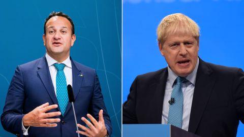 Leo Varadkar & Boris Johnson Split