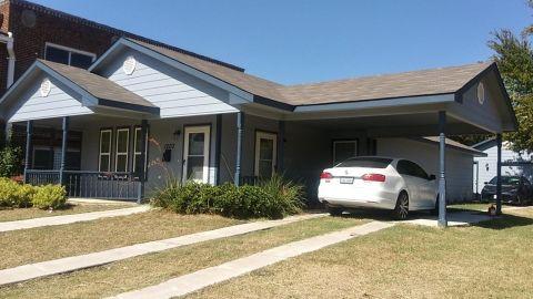 The house where Atatiana Koquice Jefferson was shot.