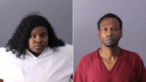 Derick Brown, left, and Patrick Stallworth have been arrested and charged with capital murder of Kamille McKinney.