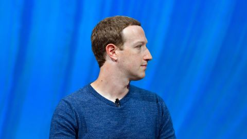 TOPSHOT - Facebook's CEO Mark Zuckerberg looks on during the VivaTech (Viva Technology) trade fair in Paris, on May 24, 2018. (Photo by GERARD JULIEN / AFP)        (Photo credit should read GERARD JULIEN/AFP/Getty Images)