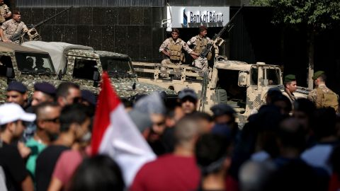 Hundreds of thousands took to the streets across Lebanon over the weekend.