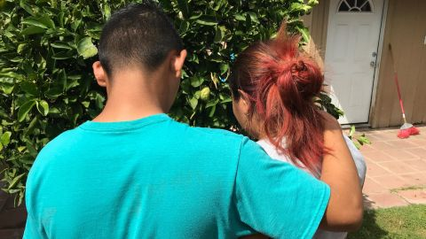 Giovanny and Cynthia, asylum seekers from Honduras, have been living since January with hosts in Arizona who expected to put them up for a few days, but who stepped up to help when their sponsors fell through.