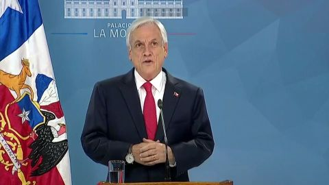 Chilean President Sebastian Piñera