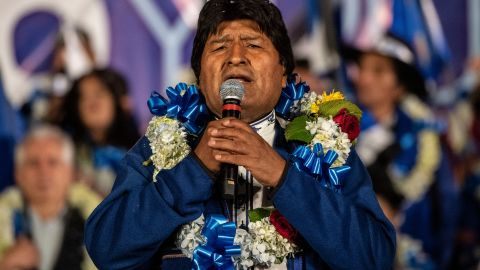 Bolivian President Evo Morales is seeking his fourth term in office.
