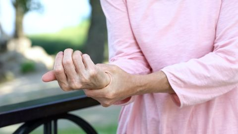 Many participants in the study suffer with arthritis.