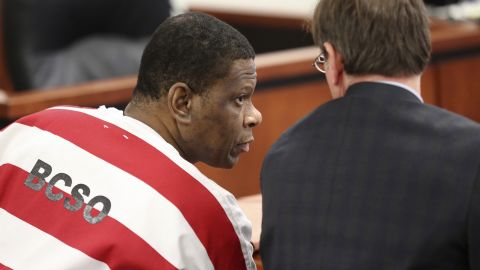 Texas Death row inmate Rodney Reed is back in Bastrop County District Court Tuesday October 10, 2017 asking Judge Doug Shaver to reconsider testimony from his trial.