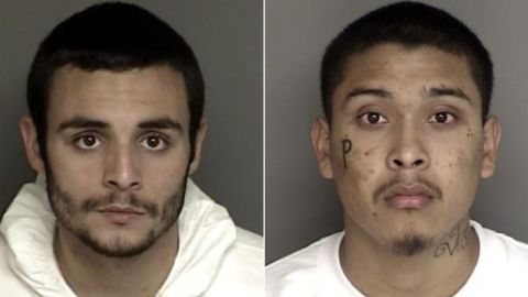 Santos Fonseca, left, and Jonathan Salazar were awaiting trial on unrelated murder charges and other felonies.