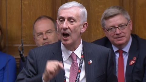 Lindsay Hoyle is the new Speaker of the UK Parliament.