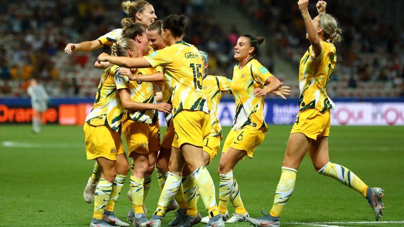 Australia's women footballers get equal pay in landmark deal   CNN